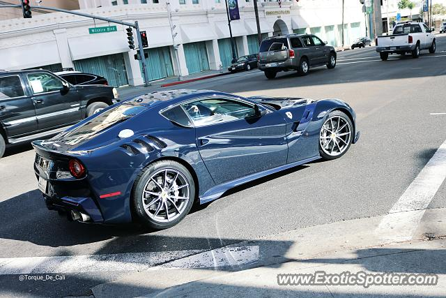 ferrari f12 spotted in beverly hills california on 11 18 2015. Cars Review. Best American Auto & Cars Review