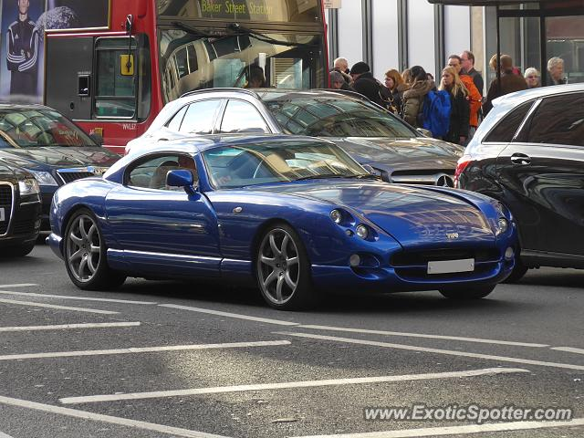 TVR Cerbera spotted in London, United Kingdom