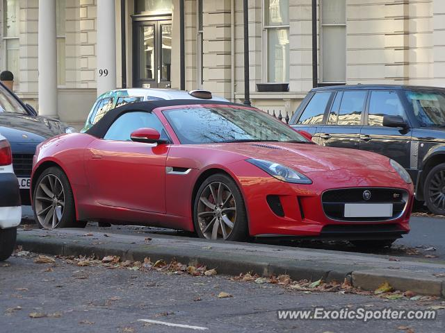 Jaguar F-Type spotted in London, United Kingdom
