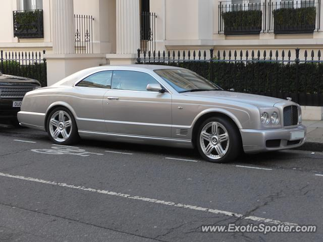Bentley Brooklands spotted in London, United Kingdom