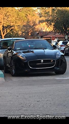Jaguar F-Type spotted in Carmel by the se, California