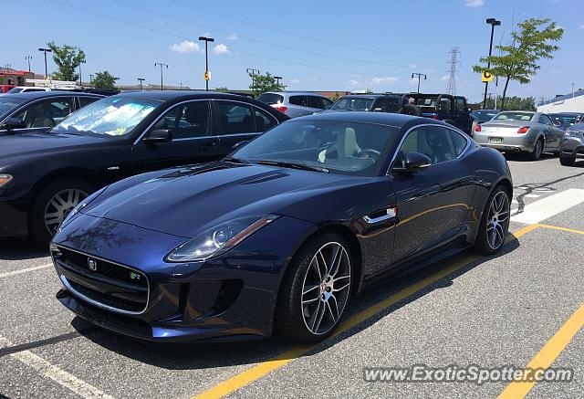 Jaguar F-Type spotted in Secaucus, New Jersey