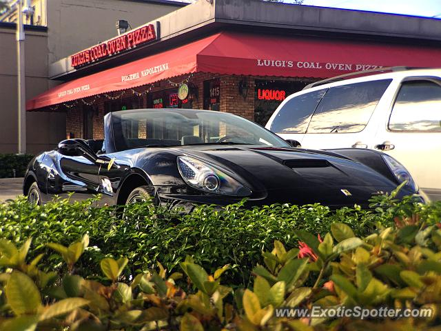 Ferrari California spotted in Fort Lauderdale, Florida