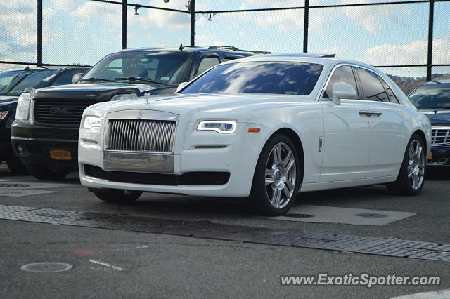 Rolls-Royce Ghost spotted in Manhattan, New York