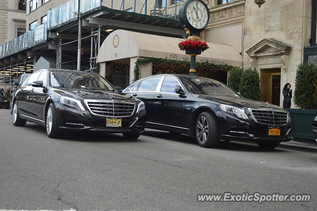 Mercedes Maybach spotted in Manhattan, New York