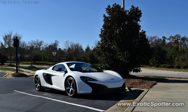 Mclaren 650S spotted in Cary, North Carolina