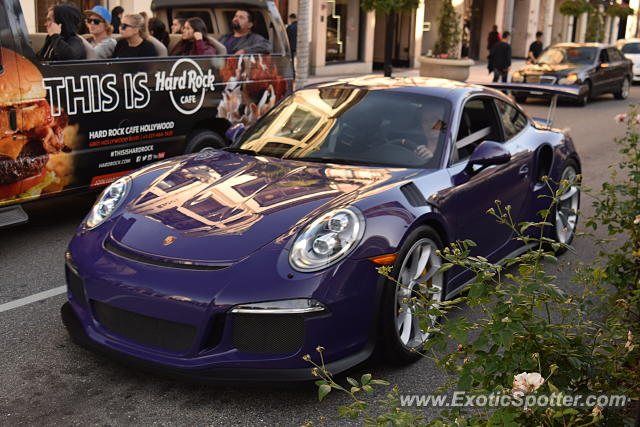Porsche 911 GT3 spotted in Beverly Hills, California