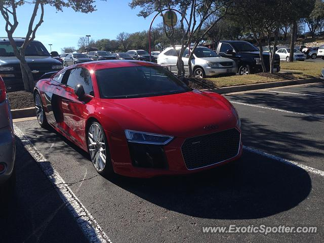 Audi R8 spotted in Austin, Texas