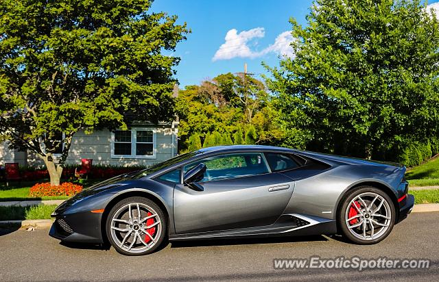 Lamborghini Huracan spotted in Long Branch, New Jersey