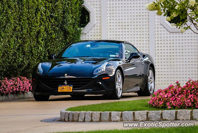 Ferrari California spotted in Deal, New Jersey
