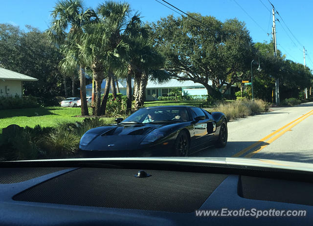 Ford GT spotted in Stuart, Florida