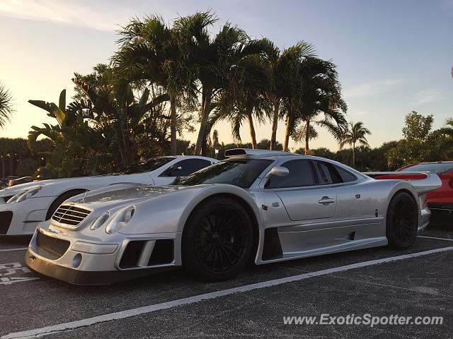 Mercedes CLK-GTR spotted in Palm Beach, Florida