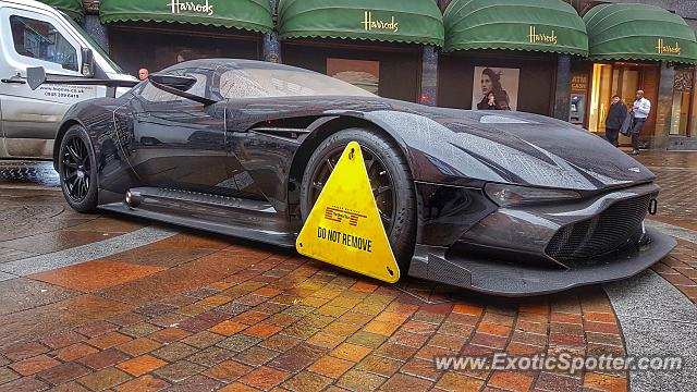 aston martin vulcan spotted in london, united kingdom on 02/02/2027