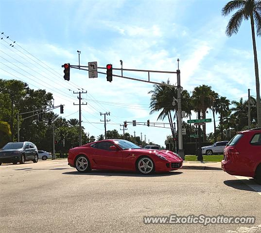 Ferrari 599GTB spotted in Palm Beach, Florida