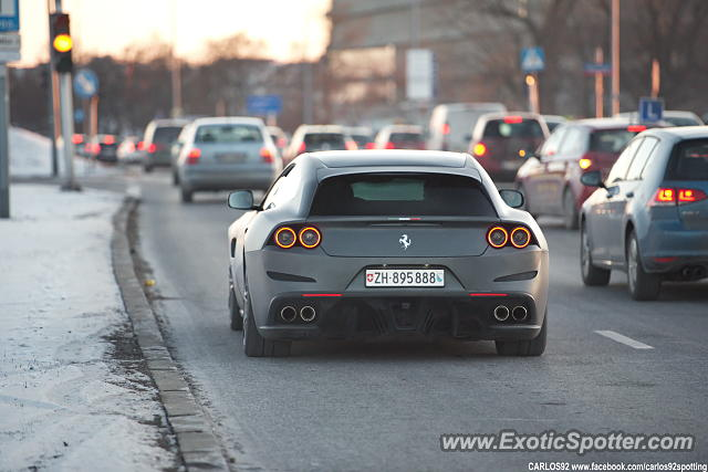 Ferrari GTC4Lusso spotted in Warsaw, Poland