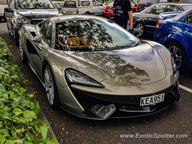 Mclaren 570S spotted in Auckland, New Zealand
