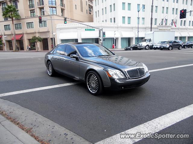 Mercedes Maybach spotted in Beverly Hills, California