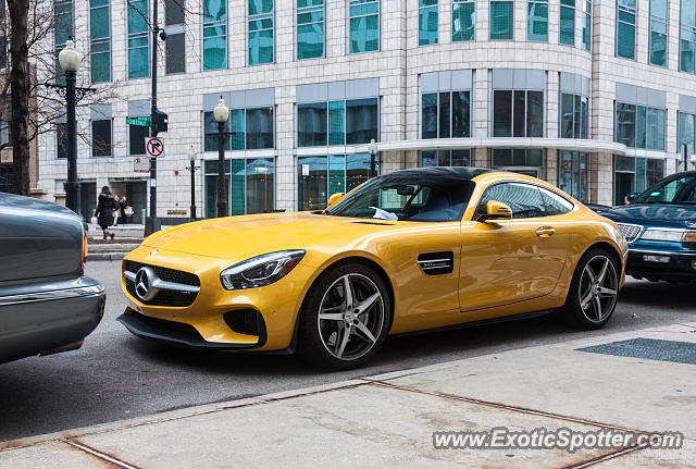Mercedes AMG GT spotted in Chicago, Illinois