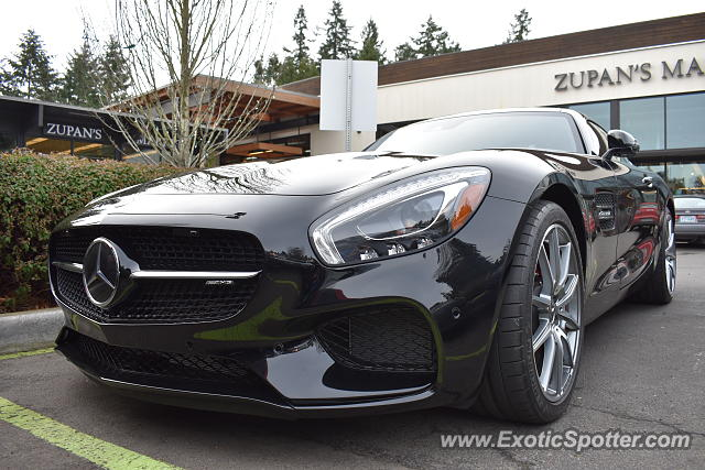 Mercedes AMG GT spotted in Lake Oswego, Oregon