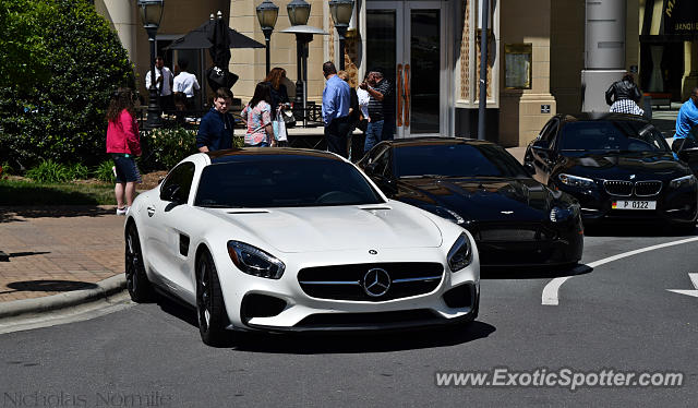Mercedes AMG GT spotted in Charlotte, North Carolina