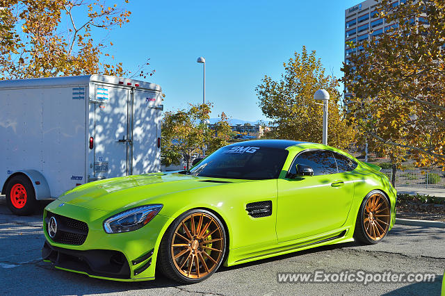 Mercedes AMG GT spotted in Canoga Park, California
