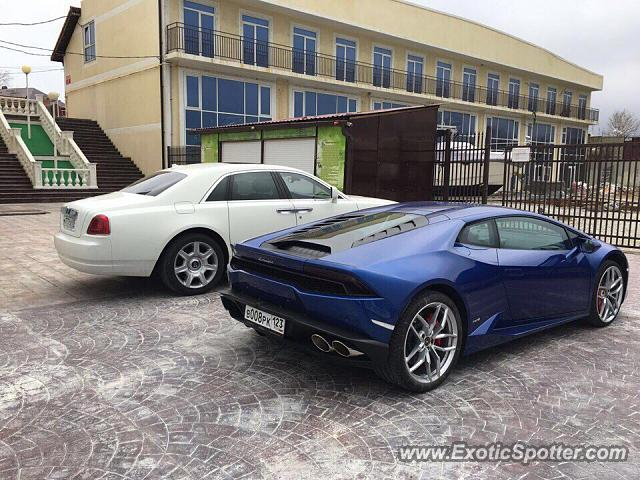lamborghini huracan spotted in novorossiysk russia on 03 01 2017 photo 2. Black Bedroom Furniture Sets. Home Design Ideas