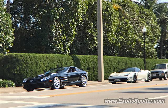 Mercedes SLR spotted in Palm Beach, Florida
