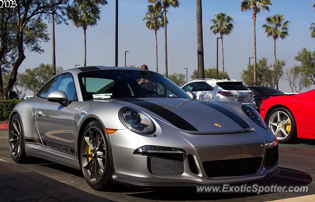 porsche 911r spotted in newport beach, california on 03/11/2017
