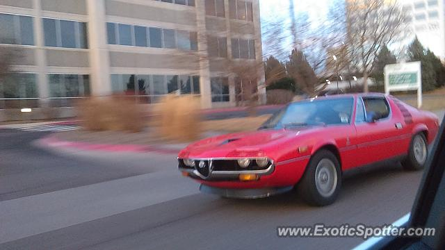 Alfa Romeo Montreal spotted in DTC, Colorado