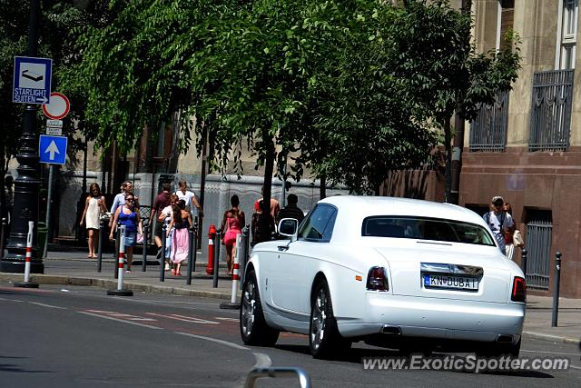 Rolls-Royce Phantom spotted in Budapest, Hungary