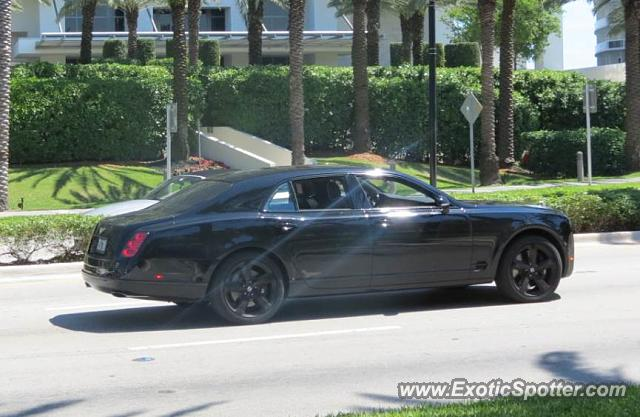 Bentley Mulsanne spotted in Bal Harbour, Florida