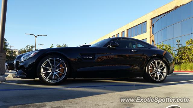 Mercedes AMG GT spotted in UTC, California