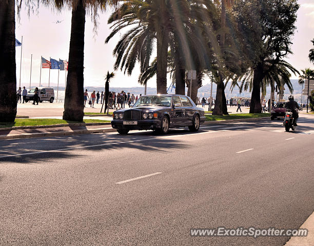 Bentley Turbo R spotted in Nice, France