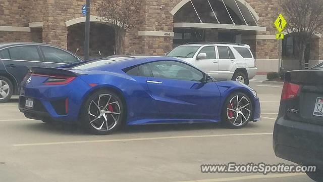 Acura NSX spotted in Dallas, Texas