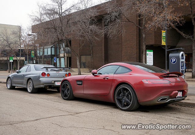 Mercedes AMG GT spotted in Edmonton, Canada