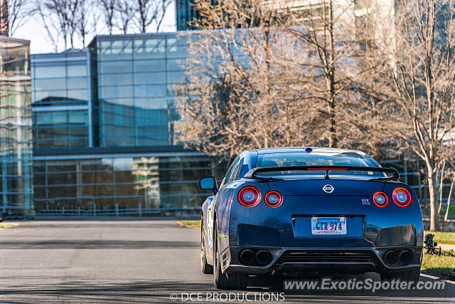 Nissan GT-R spotted in Sterling, Virginia