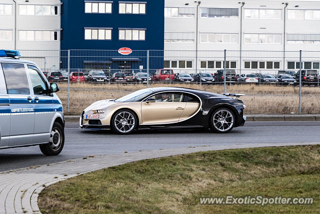 Bugatti Chiron spotted in Wolfsburg, Germany
