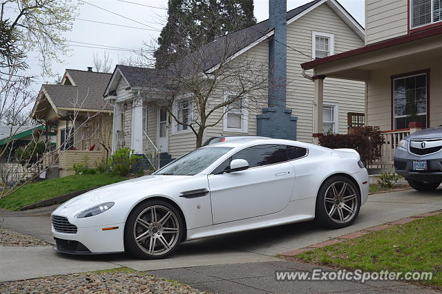 Aston Martin Vantage Spotted In Portland Oregon