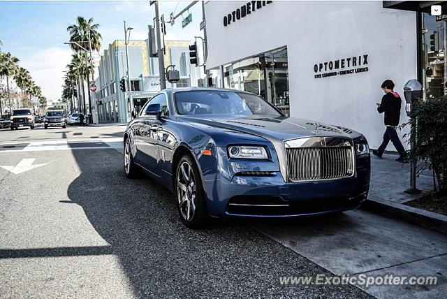 rolls royce wraith spotted in beverly hills california on 02 25 2017 photo 4. Black Bedroom Furniture Sets. Home Design Ideas