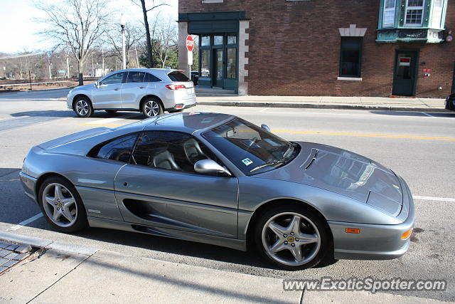Ferrari F355 spotted in Lake Forest, Illinois