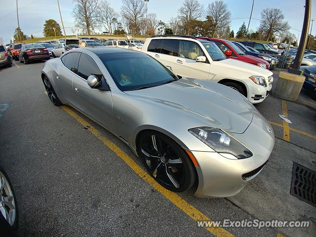 Fisker Karma spotted in Ft. Mitchell, Kentucky