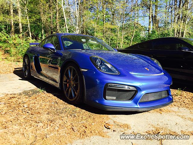 Porsche Cayman GT4 spotted in Athens, Georgia
