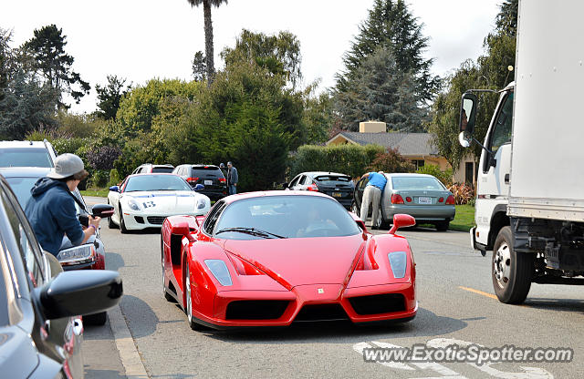 Ferrari Enzo spotted in Carmel Valley, California