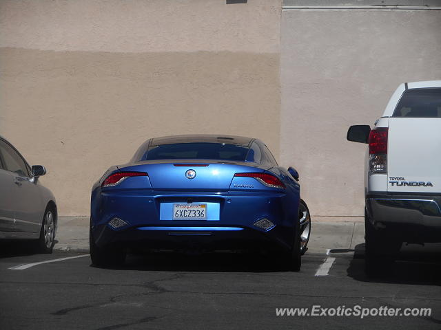 Fisker Karma spotted in San Diego, California