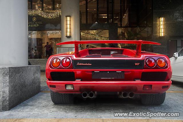 Lamborghini Diablo Spotted In Kuala Lumpur Malaysia On 03 16 2017