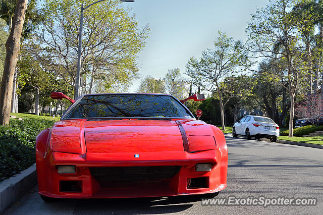 DeTomaso Pantera2 spotted in Beverly Hills, California