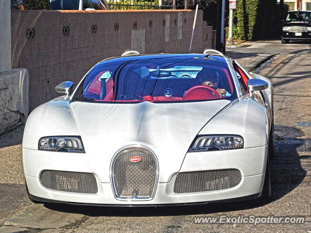 Bugatti Veyron spotted in Beverly Hills, California