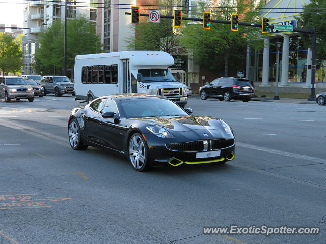 Fisker Karma spotted in Atlanta, Georgia