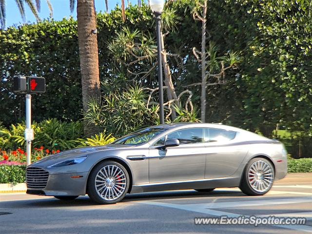 Aston Martin Rapide Spotted In Palm Beach Florida On - Palm beach aston martin
