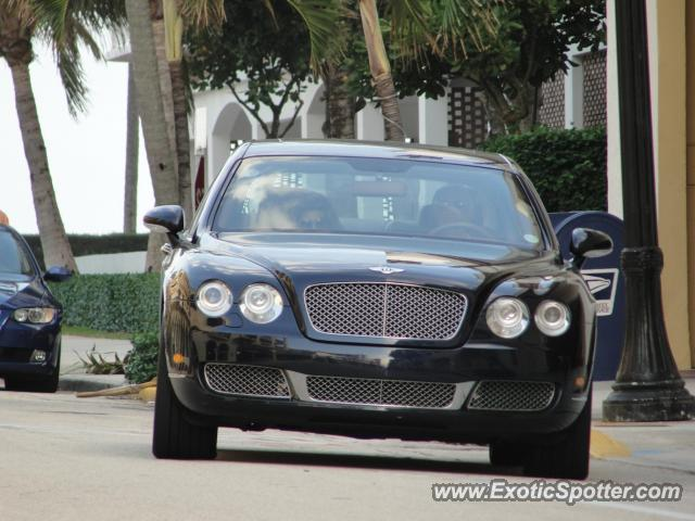 Bentley Continental spotted in Palm beach, Florida
